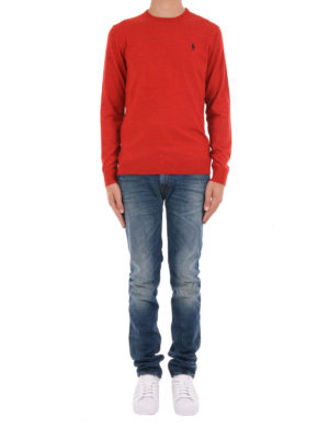 Polo Ralph Lauren: crew necks online - Wool crew neck sweater