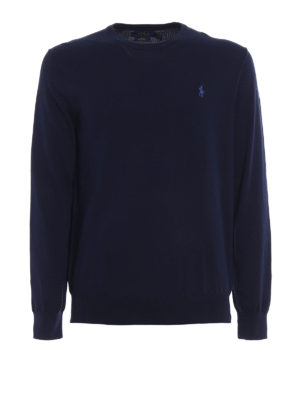 Polo Ralph Lauren: crew necks - Pima cotton crew neck sweater
