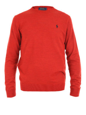Polo Ralph Lauren: crew necks - Wool crew neck sweater