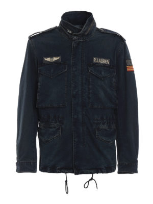 POLO RALPH LAUREN: giacche denim - Giacca di jeans stile cacciatora