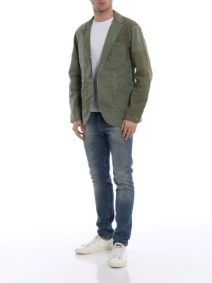 Polo Ralph Lauren: denim jacket online - Patchwork cotton casual jacket