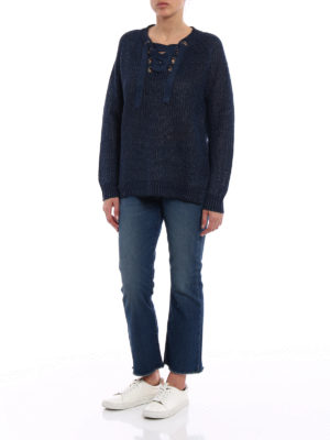 Polo Ralph Lauren: flared jeans online - The Chrystie cropped flared jeans