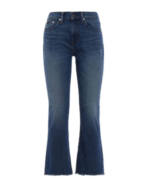 Polo Ralph Lauren: flared jeans - The Chrystie cropped flared jeans