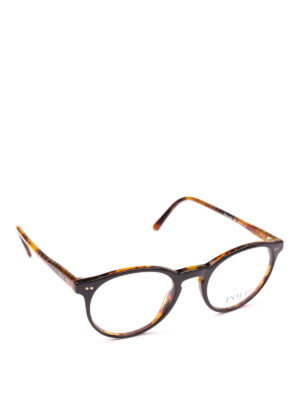 POLO RALPH LAUREN: Occhiali - Occhiali da vista tondi in acetato bicolore