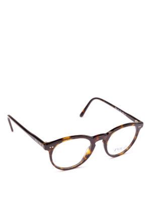 POLO RALPH LAUREN: Occhiali - Occhiali con montatura tonda tartaruga