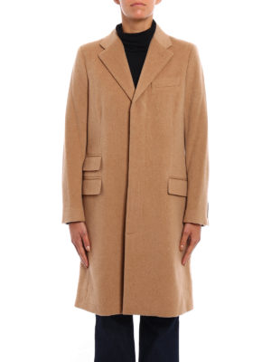 Polo Ralph Lauren: knee length coats online - Wool and cashmere coat