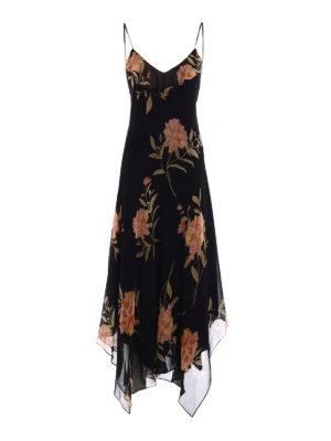 Polo Ralph Lauren: maxi dresses - Floral silk georgette maxi dress