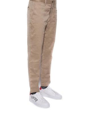 POLO RALPH LAUREN: pantaloni casual online - Pantaloni beige in cotone