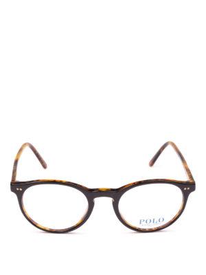 POLO RALPH LAUREN: Occhiali online - Occhiali da vista tondi in acetato bicolore