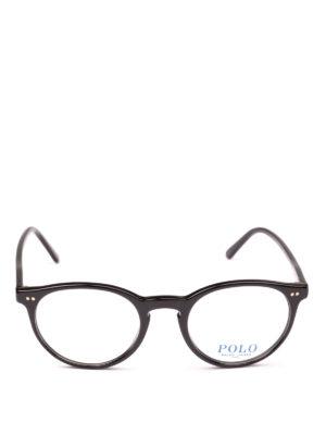 POLO RALPH LAUREN: Occhiali online - Occhiali da vista con montatura tonda nera