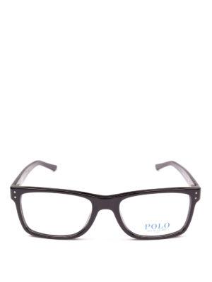 POLO RALPH LAUREN: Occhiali online - Occhiali da vista montatura squadrata nera