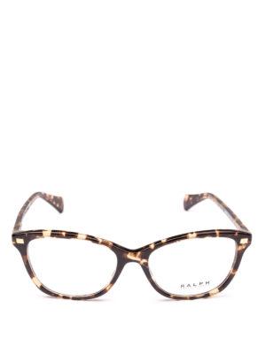 POLO RALPH LAUREN: Occhiali online - Occhiali rettangolari con montatura fantasia