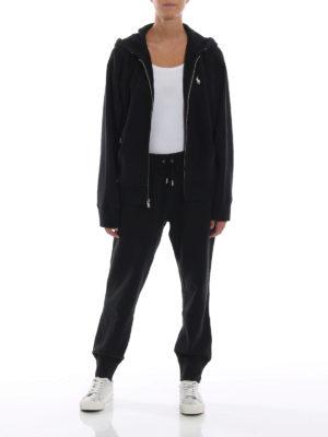 POLO RALPH LAUREN: Felpe e maglie online - Felpa over nera in misto cotone con cappuccio