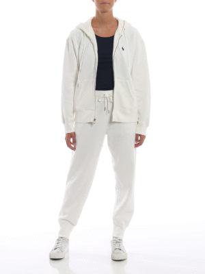 POLO RALPH LAUREN: Felpe e maglie online - Felpa over in misto cotone con cappuccio