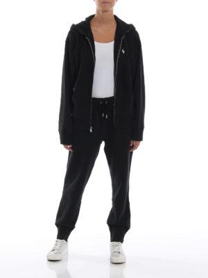POLO RALPH LAUREN: pantaloni sport online - Pantaloni neri in misto cotone felpato