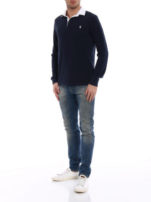 Polo Ralph Lauren: polo shirts online - Iconic Rugby cotton polo shirt