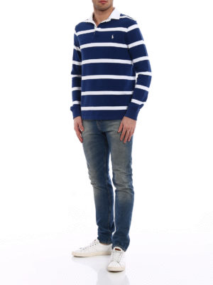 Polo Ralph Lauren: polo shirts online - Iconic Rugby striped polo shirt