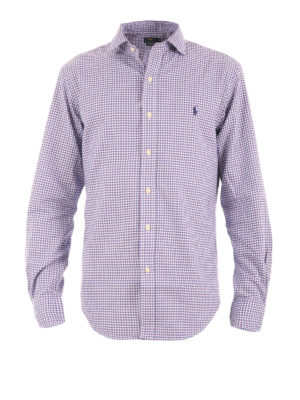 Polo Ralph Lauren: shirts - Check cotton shirt