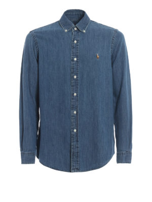 POLO RALPH LAUREN: Hemden - Hemd - Denim