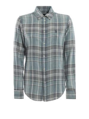 POLO RALPH LAUREN: camicie - Camicia in flanella slavata a quadri
