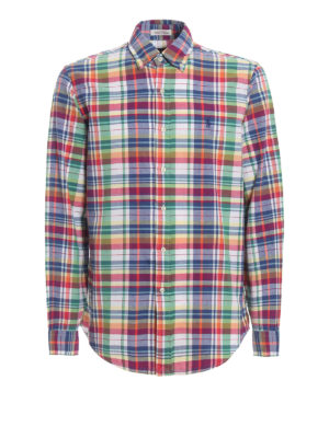 POLO RALPH LAUREN: shirts - Multicolour tartan cotton b/d shirt