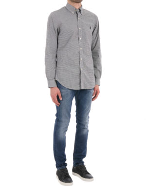 Polo Ralph Lauren: shirts online - Check cotton shirt