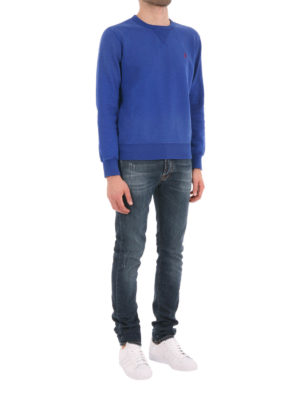 Polo Ralph Lauren: Sweatshirts & Sweaters online - Cotton crew neck sweatshirt