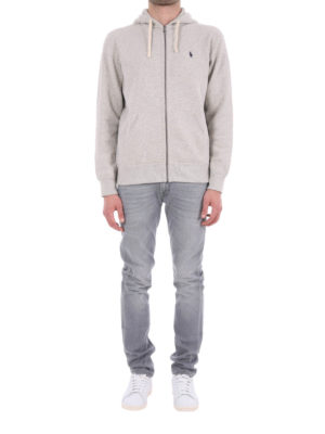 Polo Ralph Lauren: Sweatshirts & Sweaters online - Cotton zipped sweatshirt