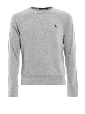 Polo Ralph Lauren: Sweatshirts \u0026 Sweaters - Pure cotton crew neck sweatshirt