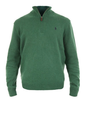 Polo Ralph Lauren: Turtlenecks & Polo necks - Cotton zipped sweater