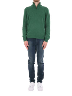 Polo Ralph Lauren: Turtlenecks & Polo necks online - Cotton zipped sweater