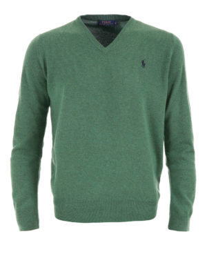 Polo Ralph Lauren: v necks - Wool V-neck sweater