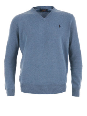 Polo Ralph Lauren: v necks - Wool V-neck sweater