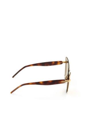 Pomellato: glasses online - Double cat-eye frame sunglasses