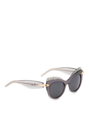 Pomellato: sunglasses - Exaggerated cat-eyes sunglasses