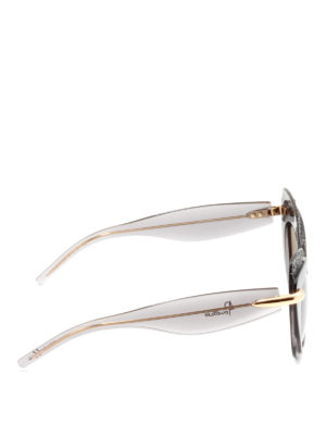 Pomellato: sunglasses online - Exaggerated cat-eyes sunglasses