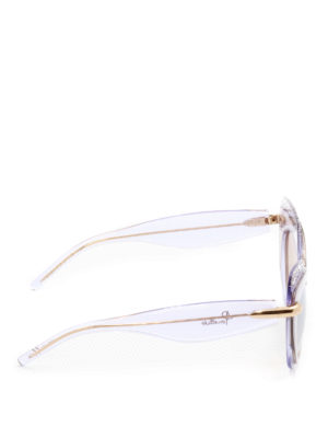 Pomellato: sunglasses online - Glowing cat-eye clear sunglasses