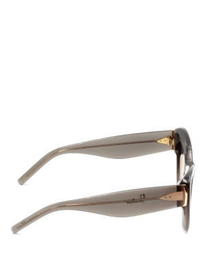 Pomellato: sunglasses online - Oversize cat-eye frame glasses