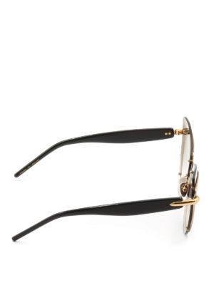 Pomellato: sunglasses online - Two-tone acetate cat-eye sunglasses