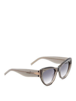 Pomellato: sunglasses - Oversize cat-eye frame glasses