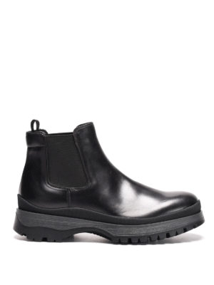 Prada: ankle boots - Illinois leather chelsea boots