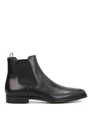Prada: ankle boots - Leather ankle boots