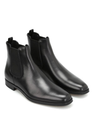 Prada: ankle boots online - Leather ankle boots