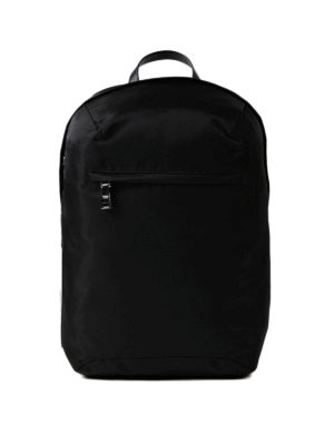 Prada: backpacks - Black nylon backpack