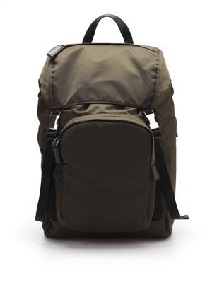 Prada: backpacks - Fabric backpack