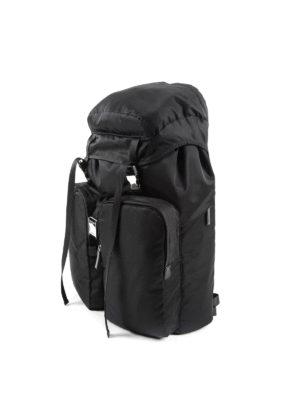 Prada: backpacks online - Technical fabric travel backpack