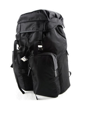 Prada: backpacks online - Technical fabric travel backpack