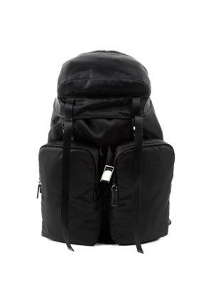 Prada: backpacks - Technical fabric travel backpack
