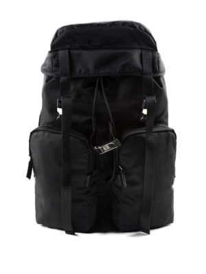 Prada: backpacks - Technical fabric travel backpack