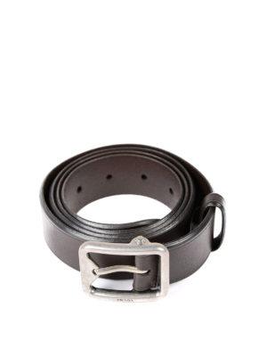 Prada: belts - Classic leather belt